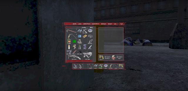 inventory w deus ex