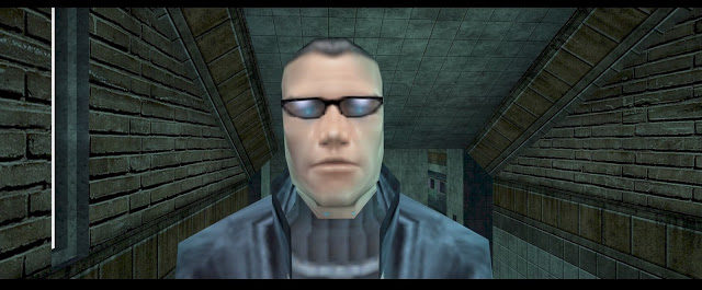 Główny protagonista gry - JC Denton