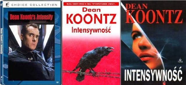 Intensywność, okładka książki i filmu