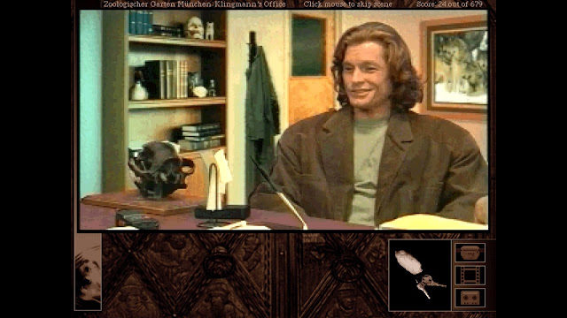 Dean Erickson jako Gabriel Knight