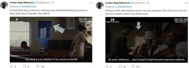 CinemaSins vs Jordan Vogt-Roberts