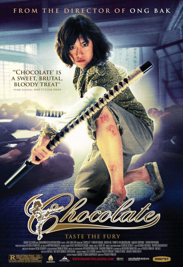 Chocolate okładka DVD
