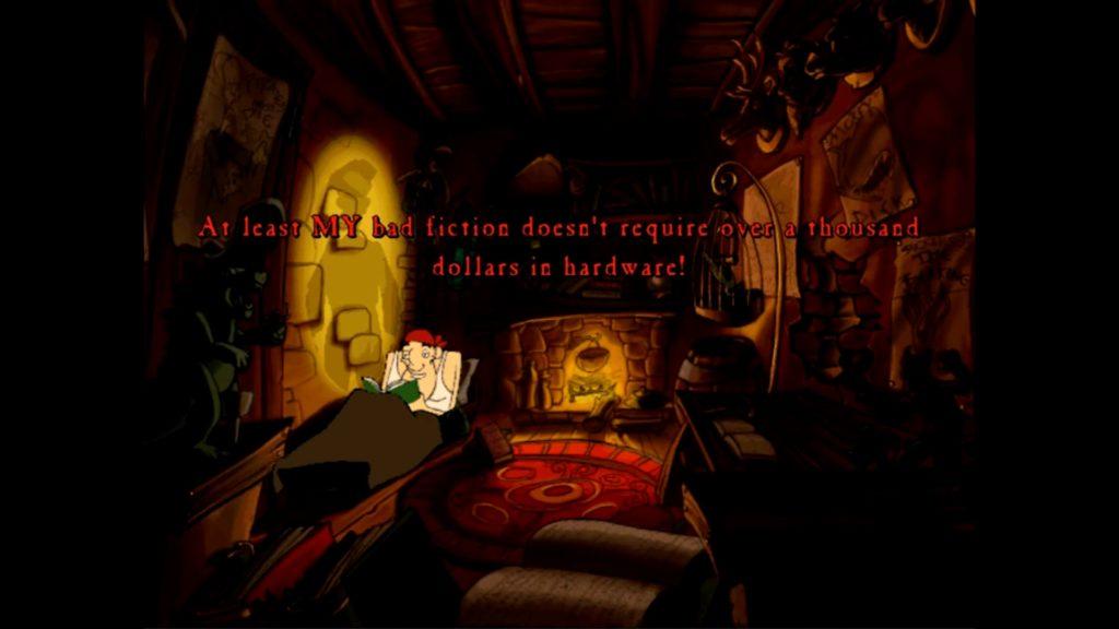The Curse of Monkey Island - grabarz