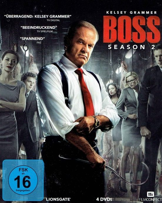 Boss sezon 2 DVD