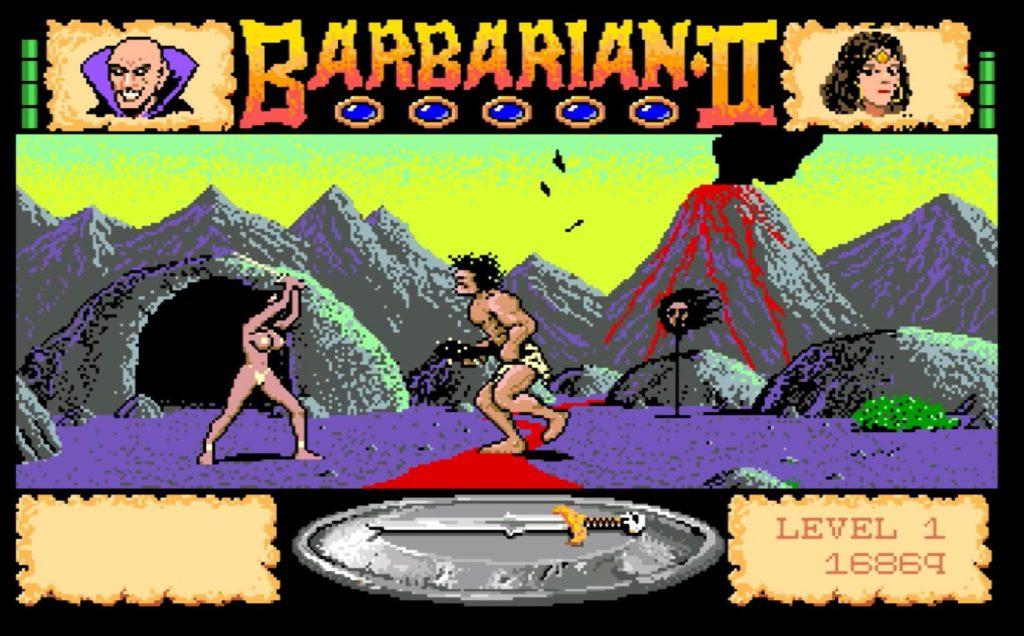Barbarians 2 amiga