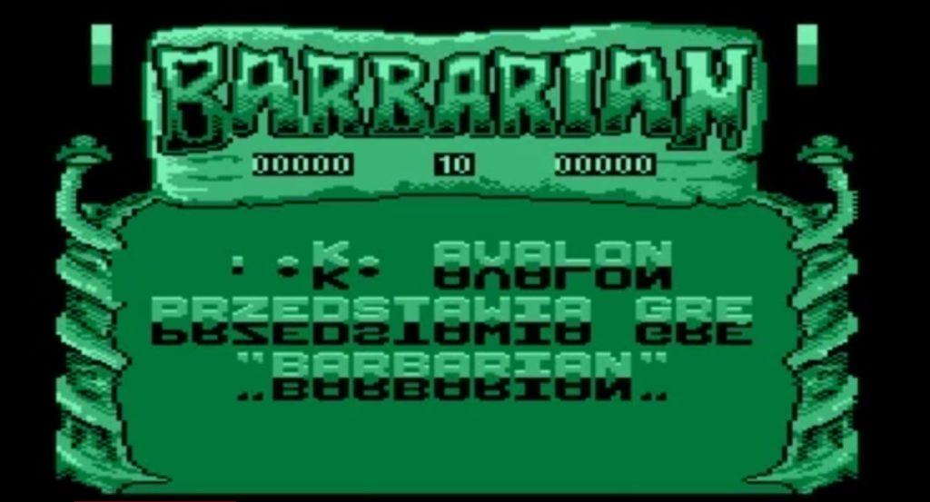 Barbarian na Atari