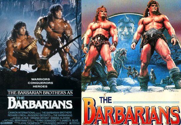 Plakat filmu Barbarians