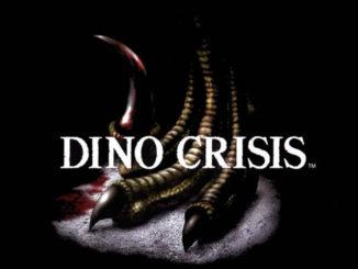 Dino crisis plakat