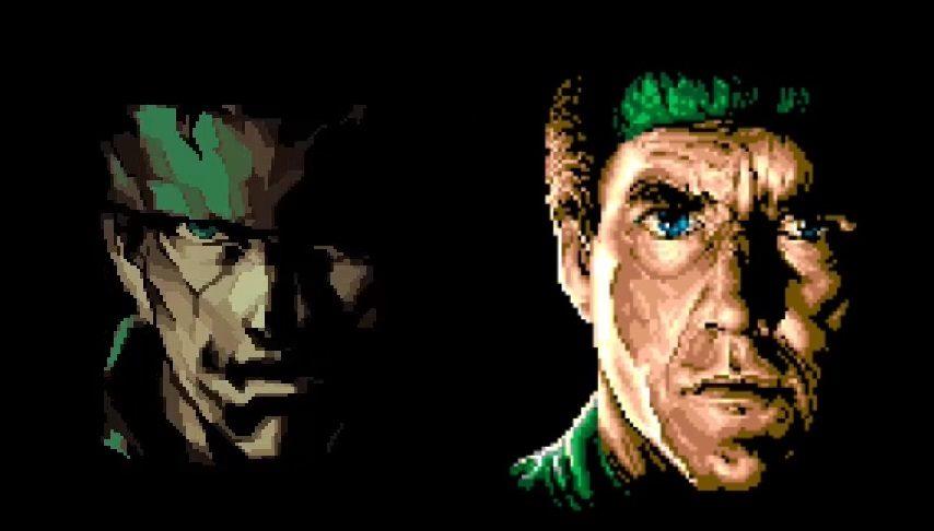 Snake msx vs snake PS2