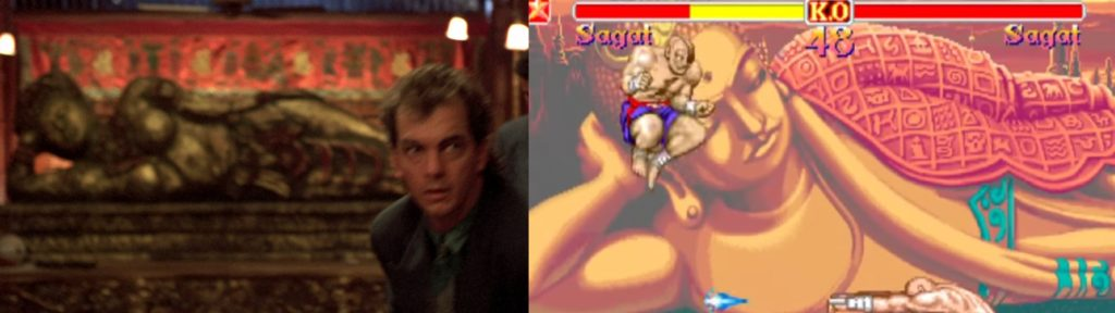 Street Fighter plansza sagat film