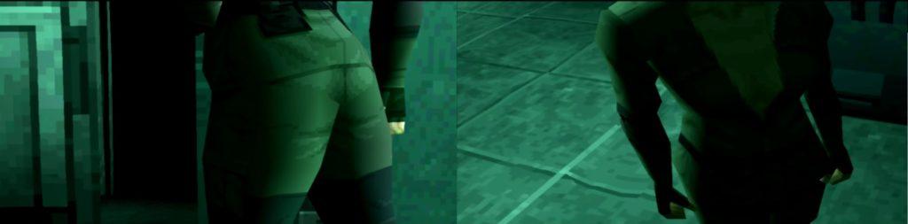 Sniper Wolf Metal Gear Solid ujęcie na pupę i dekolt
