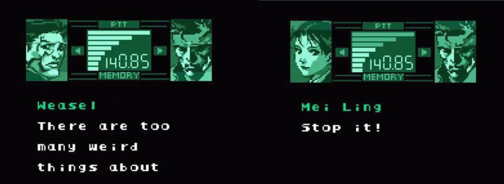 Kodek w Metal Gear Solid Ghost Babel