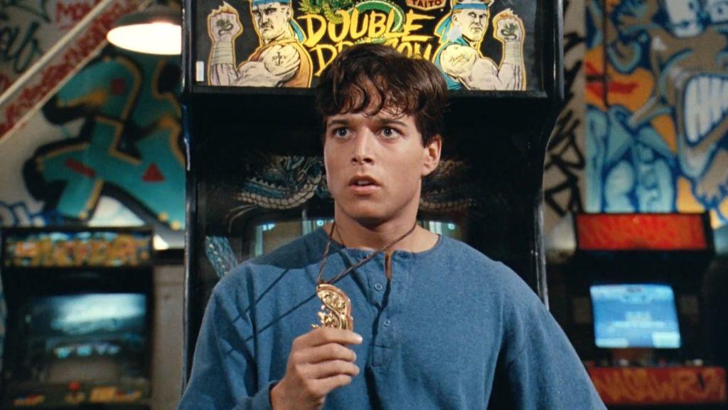 Double Dragon film arcade machine