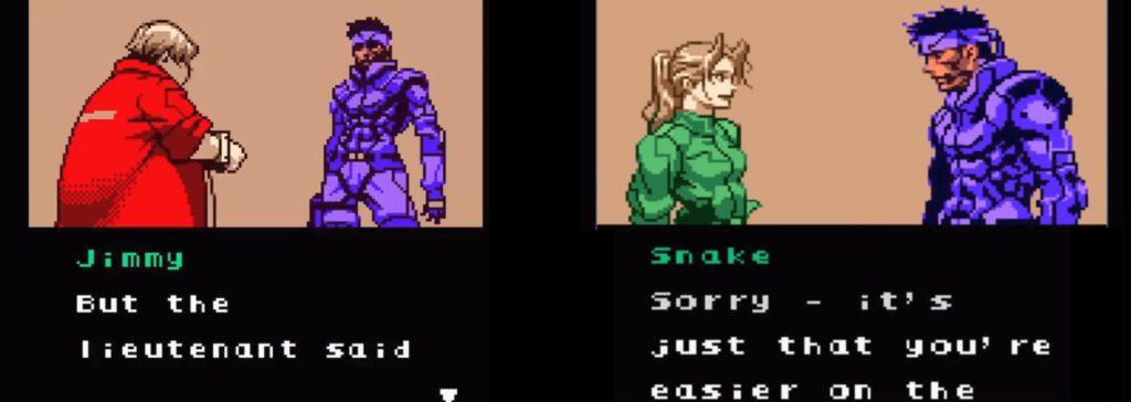 Cutscenki w Metal Gear Solid Ghost Babel