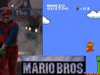 Super mario Bros gra film porównanie