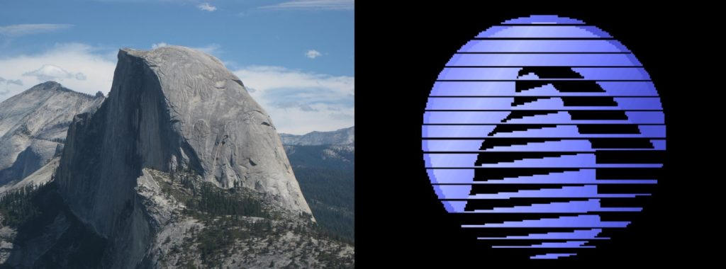 Half dome sierra
