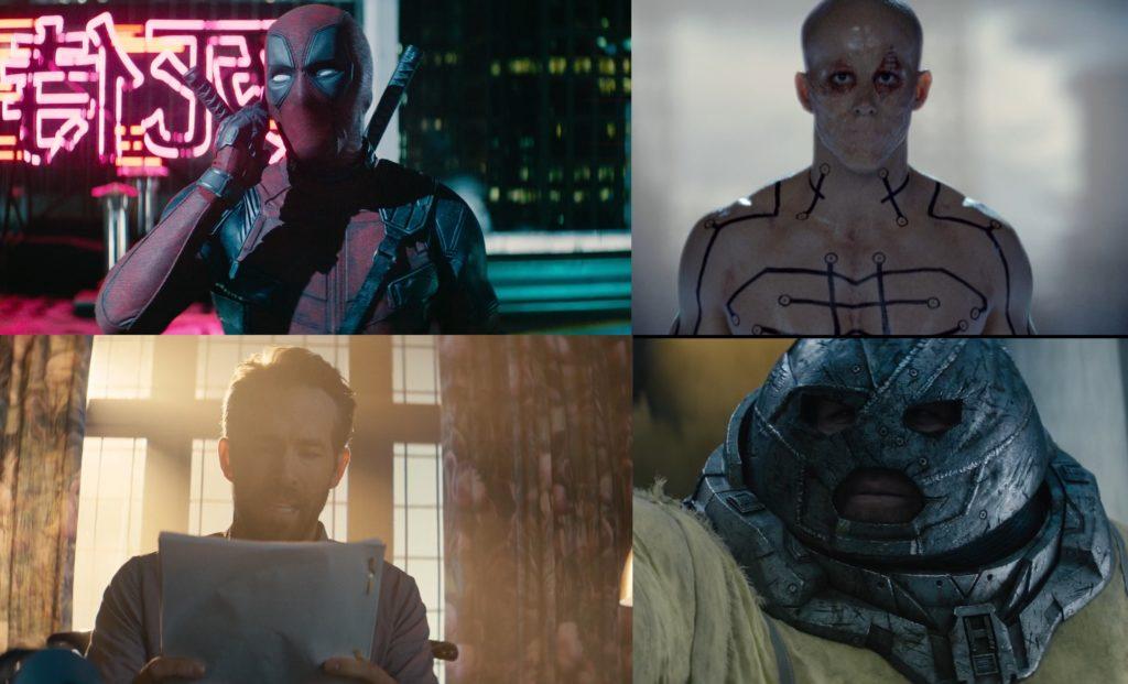 Reynolds cztery role w Deadpool