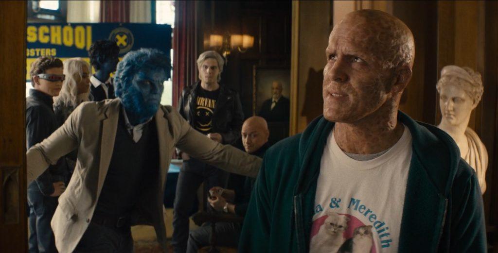 x-men w filmie deadpool 2