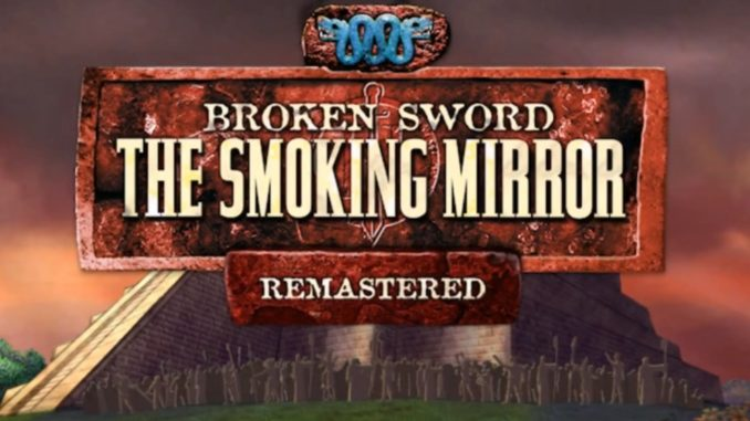 Broken sword smoking mirror