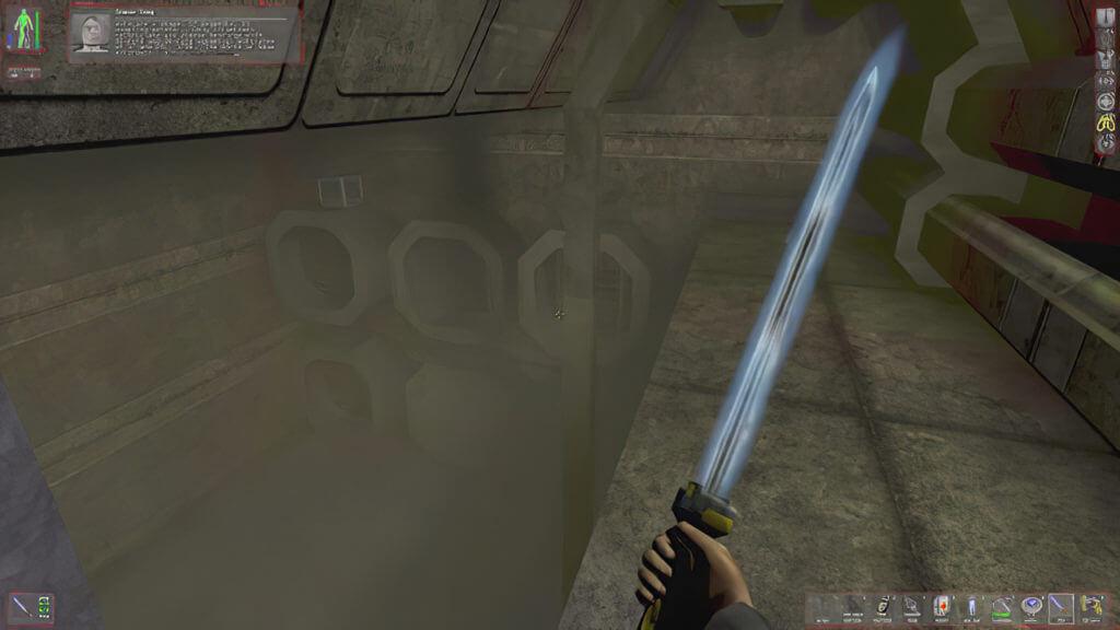 Miecz świetlny deus ex