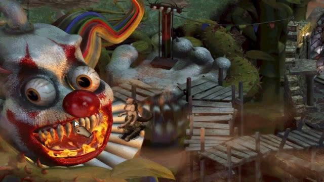 Sanitarium gameplay