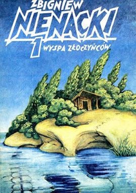 Wyspa Złoczyńców, okładka ksiażki