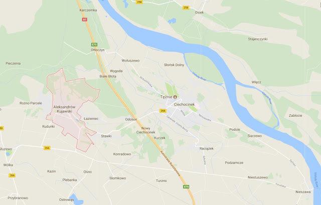 mapa Antoninów