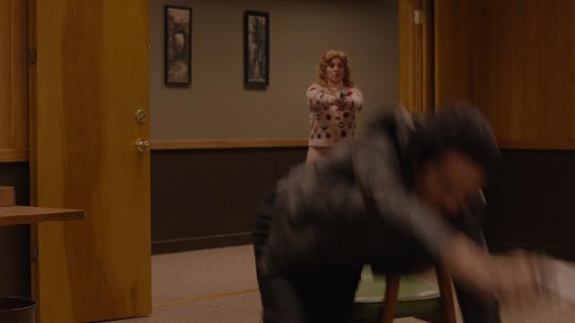 Twin Peaks Lucy zabija złego Coopera