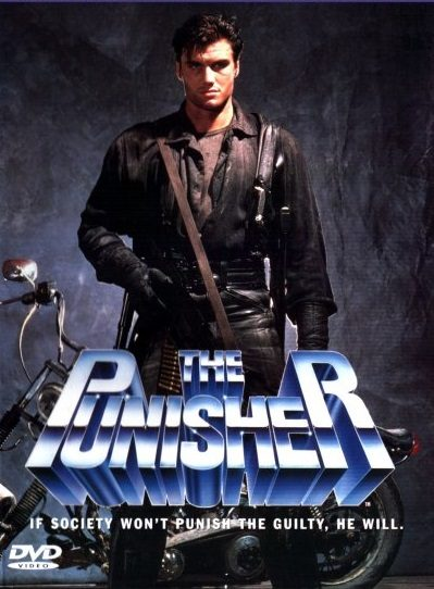 Punisher z 1989 okładka DVD