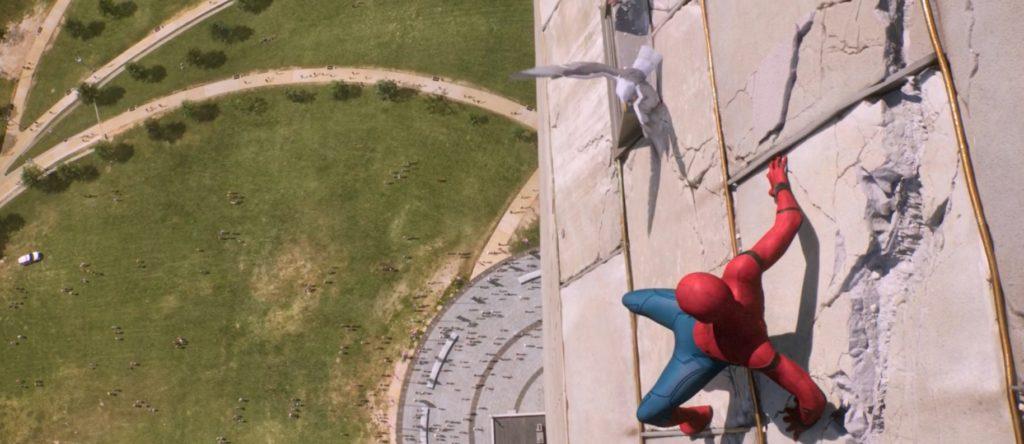 Spiderman: Homecoming monument Waszyngtona