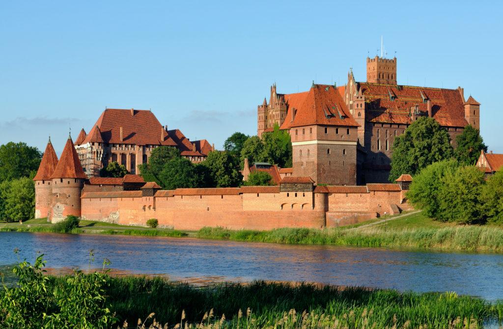 Zamek w Malborku panorama