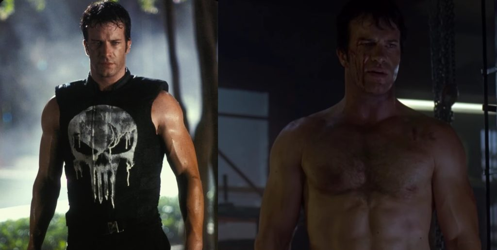 Thomas Jane ciało punisher