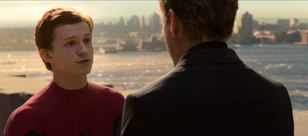 Spiderman: Homecoming Peter rozmawia z Tonym