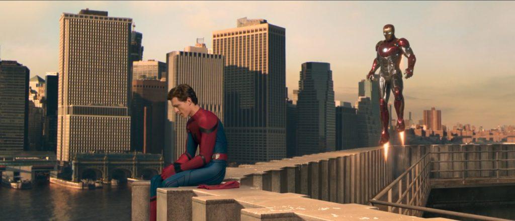 Spiderman: Homecoming Spiderman i Iron Man