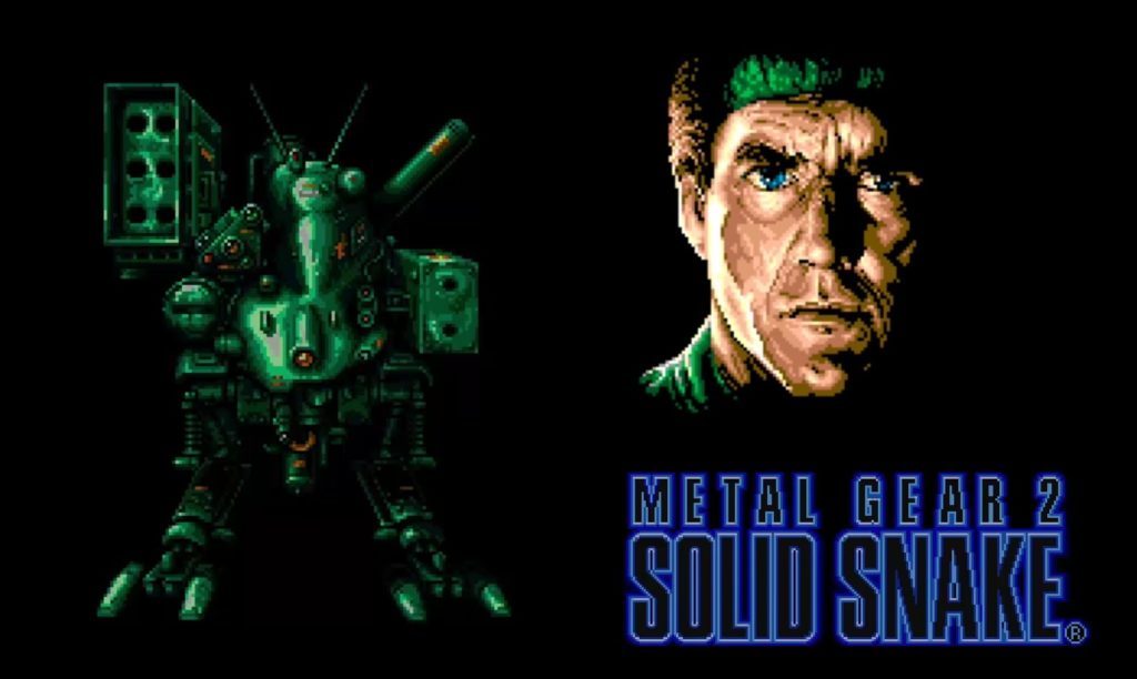 Metal Gear2 Solid Snake intro msx