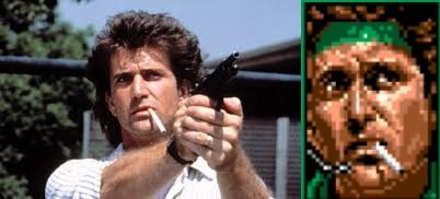 Solid Snake to Mel Gibson