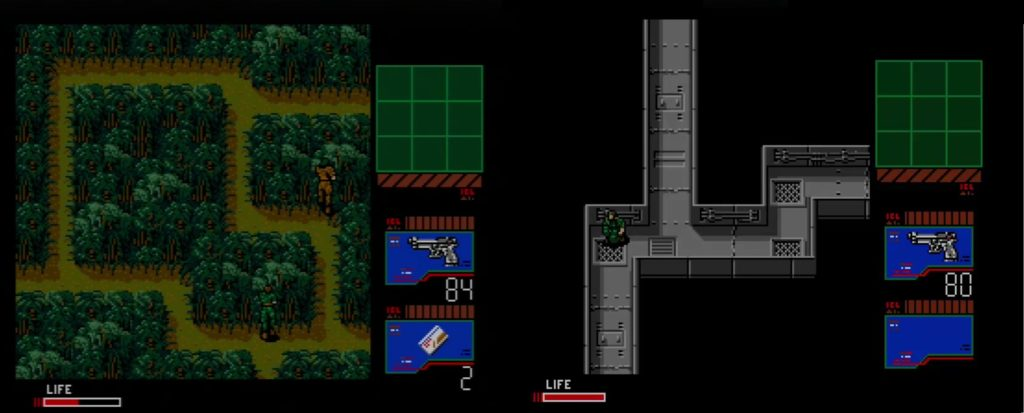 Metal Gear 2: Solid Snkake gameplay