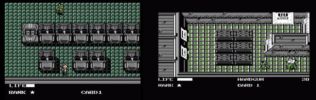 Metal Gear Nes i c64
