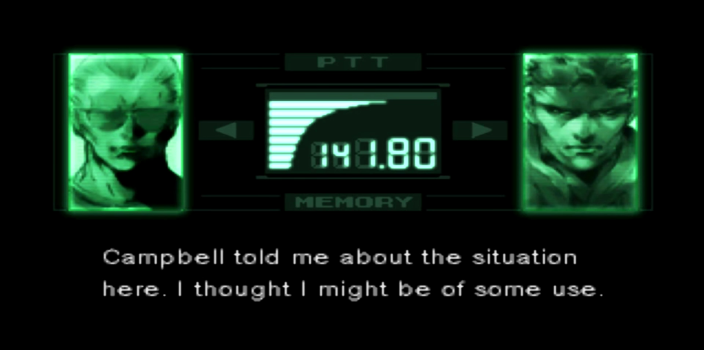 Kodek z Metal Gear Solid
