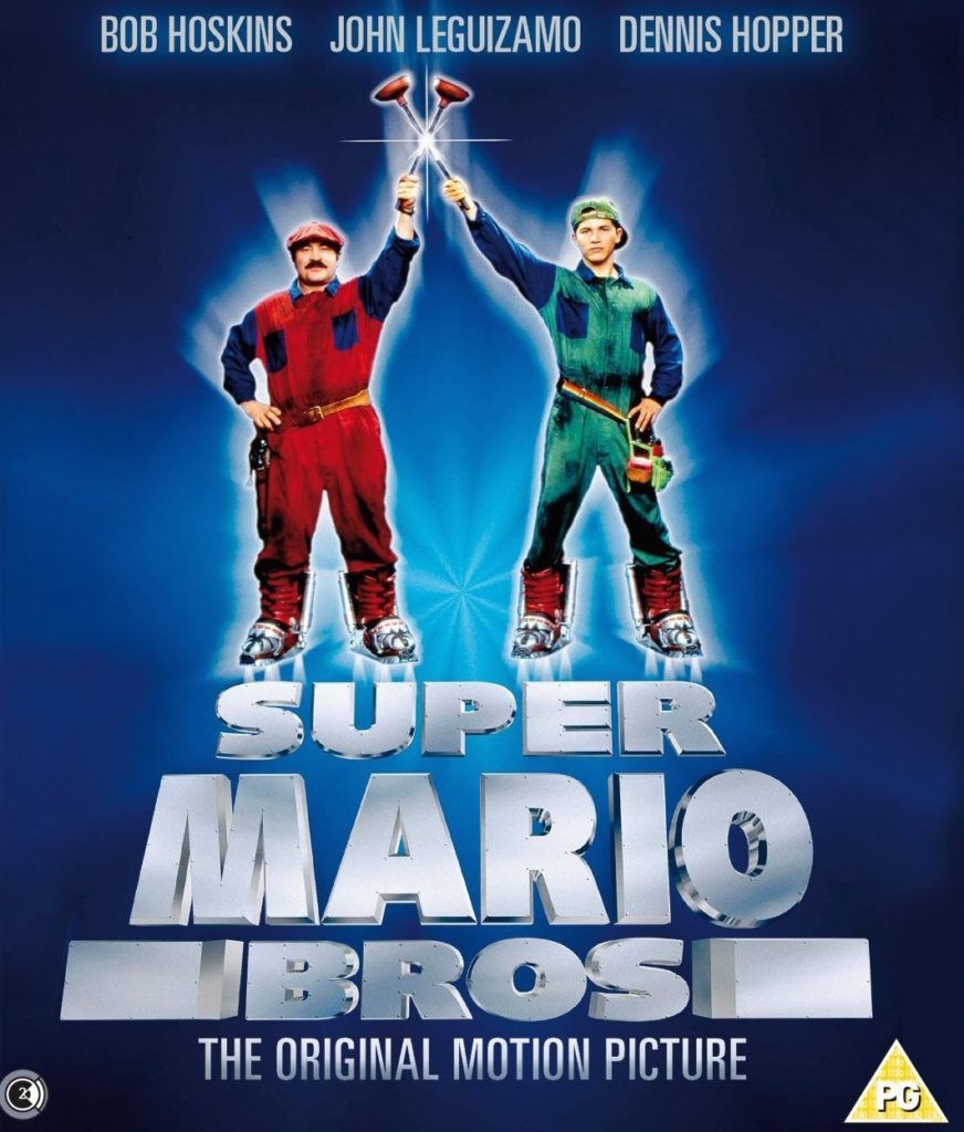 okładka BluRay filmu super mario bros