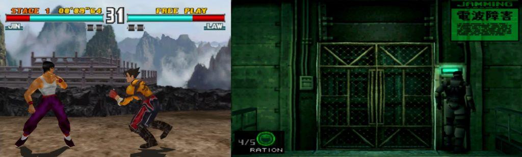 Tekken 3 vs mgs