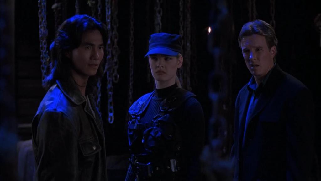 Liu Kang, Sonya, Johnny Cage