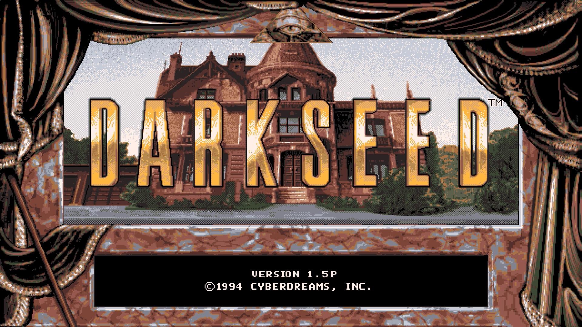 Darkseed ekran tytułowy