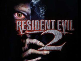 Resident Evil 2 plakat
