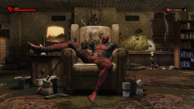 Deadpool gra