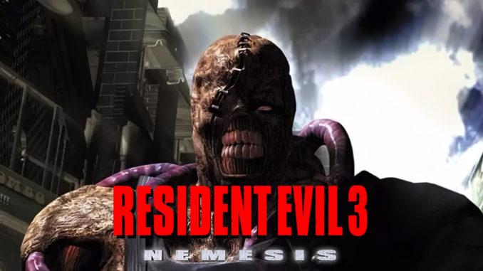 Resident Evil 3 Nemesis Playstation