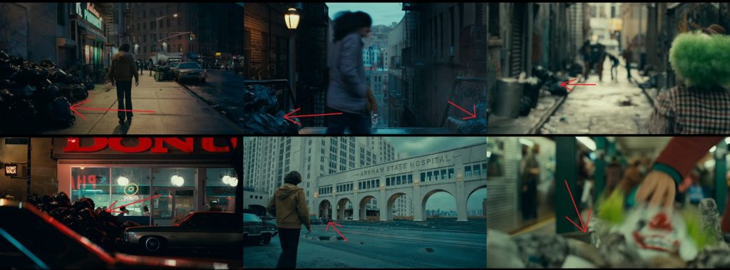 Śmieci w filmie Joker