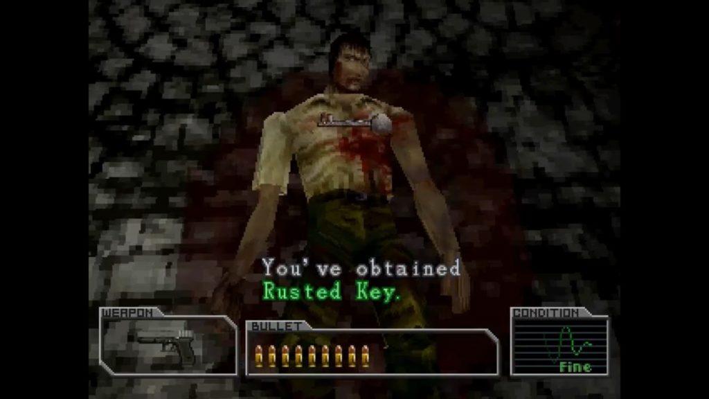 Resident Evil Survivor klucz