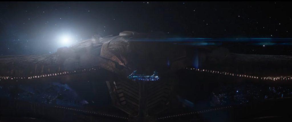 Thor Ragnarok atak thanosa