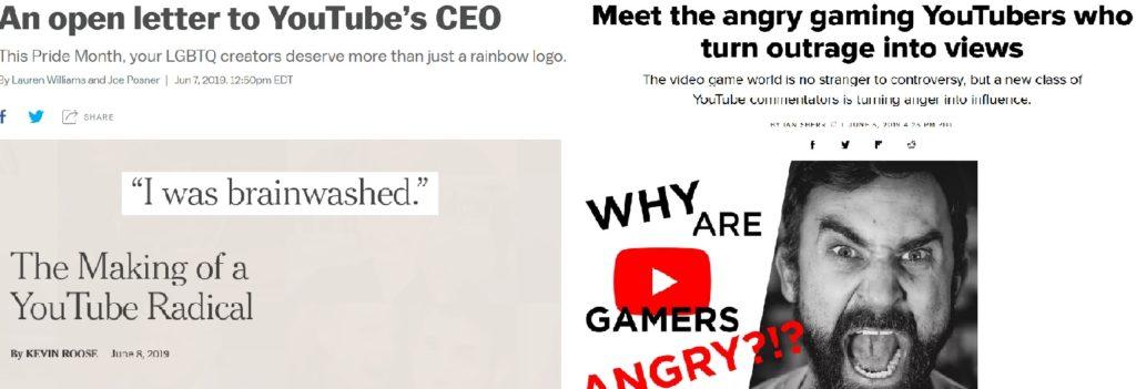 Ataki na społeczność youtube